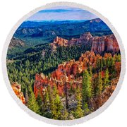 Farview Point Round Beach Towel