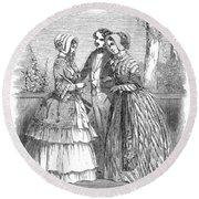 Fashion Women's, 1847 Round Beach Towel