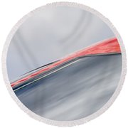 Fast Bird Round Beach Towel