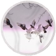 Feather Light Round Beach Towel