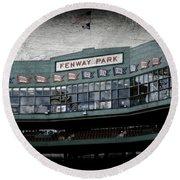 Fenway Memories - 1 Round Beach Towel