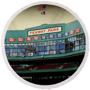 Fenway Memories - 2 Round Beach Towel
