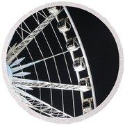 Ferris Wheel 15 Round Beach Towel