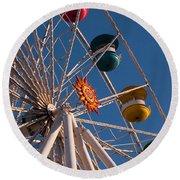 Ferris Wheel Round Beach Towel