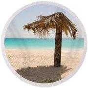 Ffryers Beach Hut Round Beach Towel
