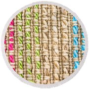 Fibre Texture Round Beach Towel