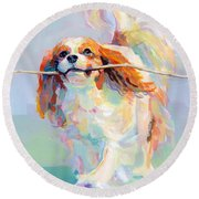 Fiddlesticks Round Beach Towel