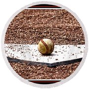 Field Of Dreams The Ball Round Beach Towel
