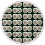 Field Of Wishes Round Beach Towel