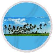 Fiji Round Beach Towel