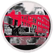 Film Homage Funeral In Berlin 1966 Orpheum Winter Carnival Parade Collage St. Paul Mn 1967-2008  Round Beach Towel