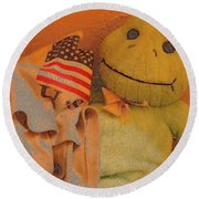 Film Homage The Muppet Movie 1979 Number 1 Froggie Colored Pencil American Flag Casa Grande Az 2004 Round Beach Towel
