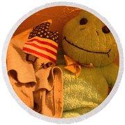 Film Homage The Muppet Movie 1979  Number 2 Froggie Smudge Stick Casa Grande Az 2004-2009 Round Beach Towel