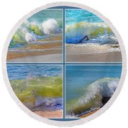 Find Your Inspiration Round Beach Towel