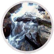 Finlay Park Waterfall Round Beach Towel