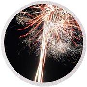 Fireworks 45 Round Beach Towel