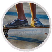 Firmly Planted Round Beach Towel
