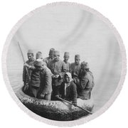 First Balkan-turkish War Round Beach Towel