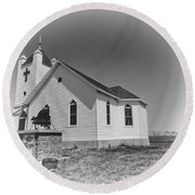 First Presbyterian Church Round Beach Towel