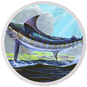 First Run 00102 Round Beach Towel
