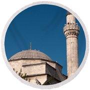 Firuz Aga Mosque Round Beach Towel