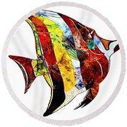 Fish 505-11-13 Marucii Round Beach Towel