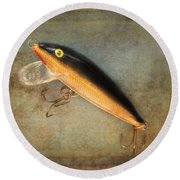 Fishing Lure II Round Beach Towel