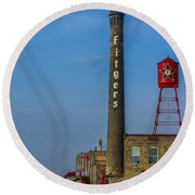 Fitgers Hotel And Brewery Round Beach Towel