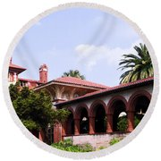 Flagler College Round Beach Towel