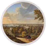 Flamstead Hill, Greenwich The Round Beach Towel
