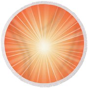 Flash - 1 Round Beach Towel