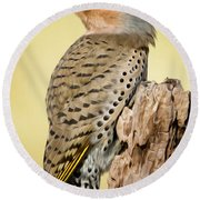 Flicker Round Beach Towel