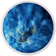 Flight For Two 2 Round Beach Towel