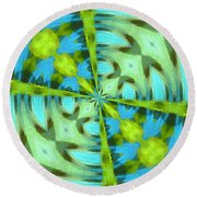 Float 4 Pattern Round Beach Towel