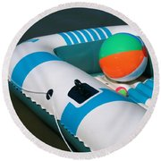 Floating Fun Round Beach Towel