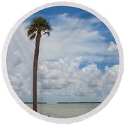 Florida Bay 6943 Round Beach Towel