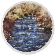 Flow V15 Round Beach Towel