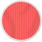 Flower Petal Petal Art From Cherryhill Nj America Micro Patterns Red Color Tones Light Shades From S Round Beach Towel