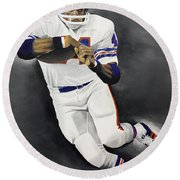 Floyd Little Round Beach Towel