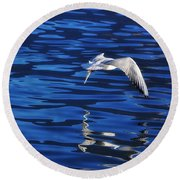 Flying Bird Round Beach Towel