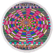Focus Target Yoga Mat Chakra Meditation Round Circles Roulette Game Casino Flying Carpet Energy Mand Round Beach Towel