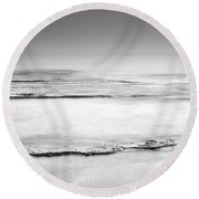 Foggy Round Beach Towel
