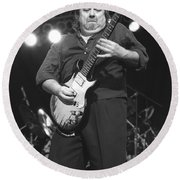 Foghat Guitarist Rod Price Round Beach Towel