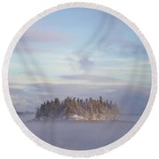 Fogscape Round Beach Towel