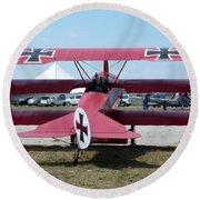 Fokker Dr.i Round Beach Towel