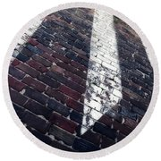 Follow Me - Abstract Photography By Sharon Cummings Round Beach Towel