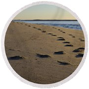 Follow Your Path Round Beach Towel