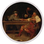 For Better Or Worse - Rob Roy Round Beach Towel