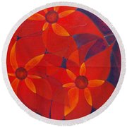 For Me For You Round Beach Towel