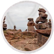 For The Druids Round Beach Towel